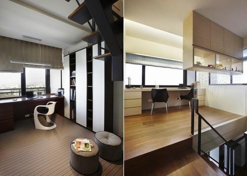 现代简约阳台设计方案