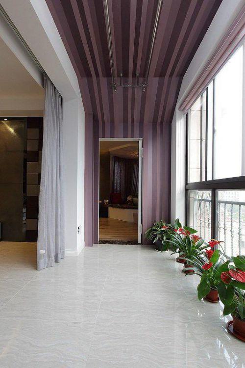 现代简约阳台设计案例展示