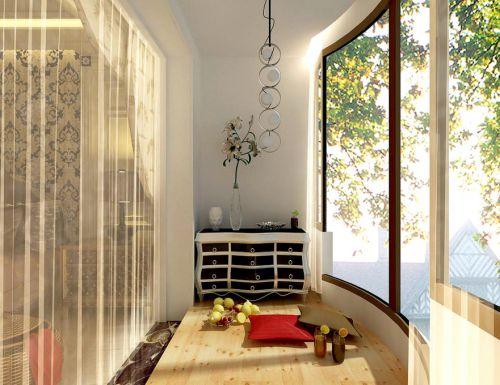 新古典阳台设计案例展示