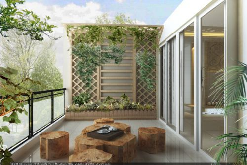 欧式欧式风格阳台设计方案