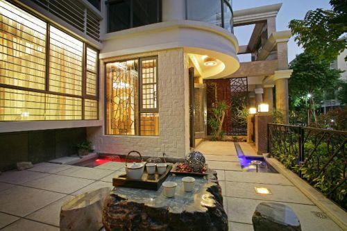 中式阳台设计方案