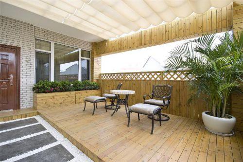 中式阳台设计案例展示