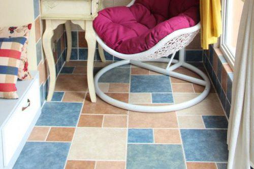 地中海乡村风格阳台椅案例展示