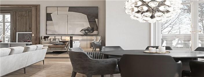 家居空间更宽敞,更具时尚感。