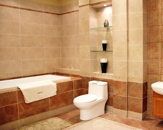 卫生间瓷砖铺贴�_卫生间瓷砖铺贴需要注意哪些问题?_装修之家网