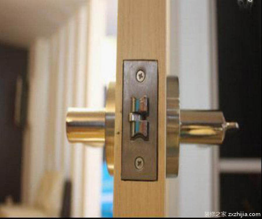 门锁安装方法
