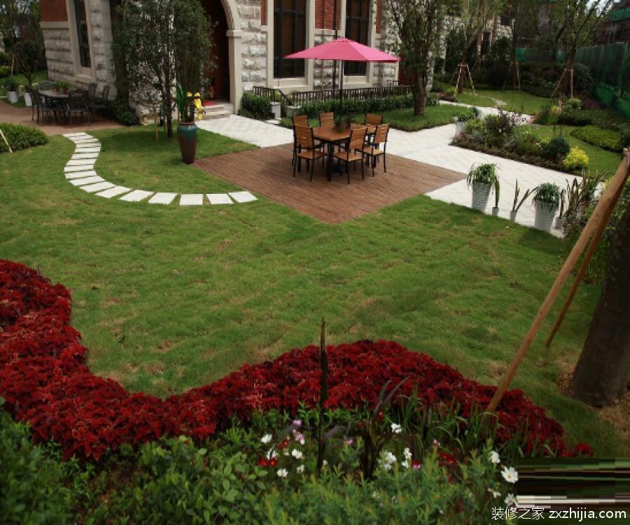 别墅绿化设计方案