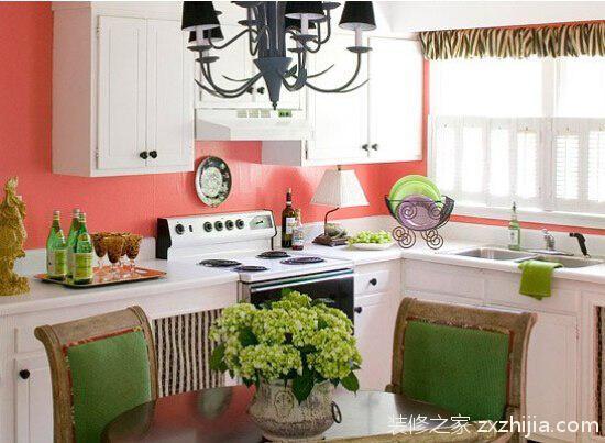 小厨房大行其道 装修妙招让空间增光芒