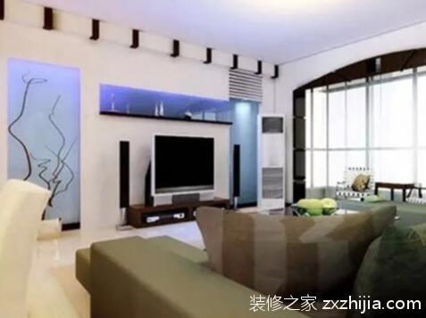 电视墙设计图片
