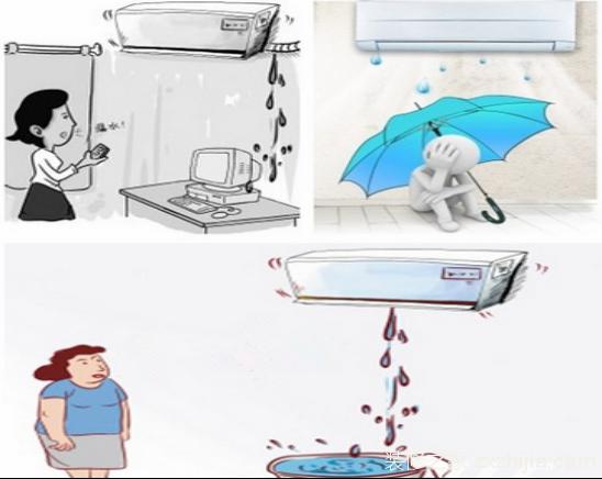 空调室内机滴水处理方法