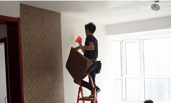 贴壁纸步骤墙面处理方法
