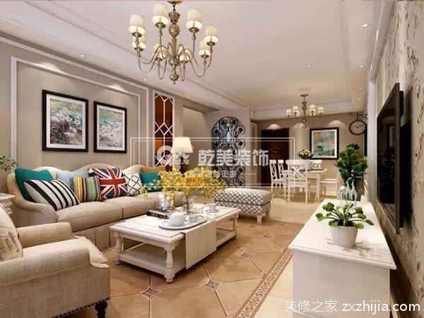 乾美装饰客厅装修