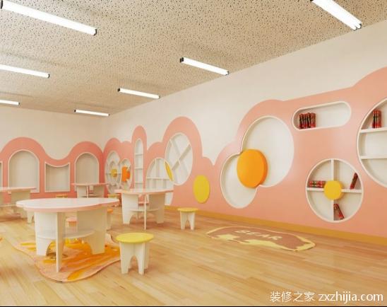 幼儿园教室装修设计
