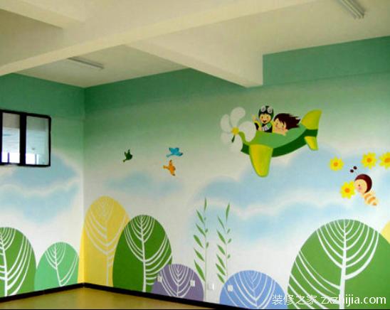 幼儿园内墙绘