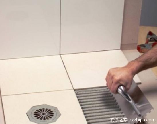瓷砖铺贴流程