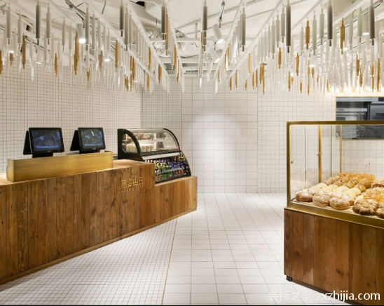 简约面包店装修效果图