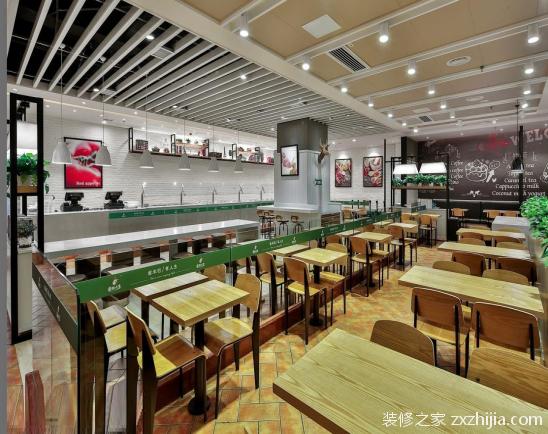 怎么合理设计快餐店?快餐店设计注意要点