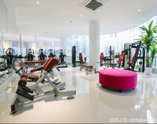 健身房装修风格