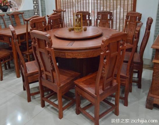 花梨木餐桌价格