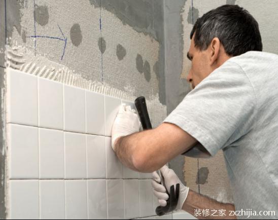 墙面瓷砖铺贴