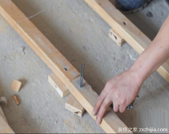 地板木龙骨安装