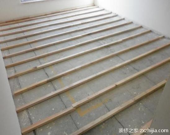 地板木龙骨安装验收