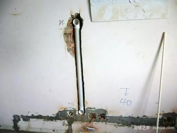 壁挂电视,露出的电视线咋处理?