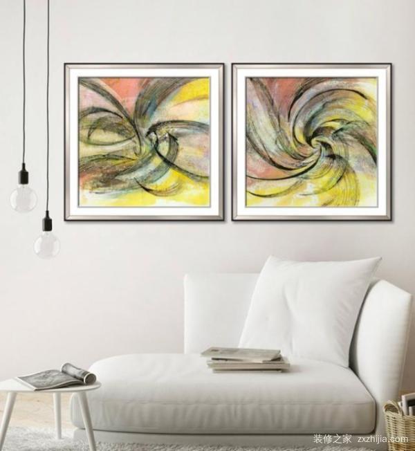 美式风格的客厅如何选择装饰画