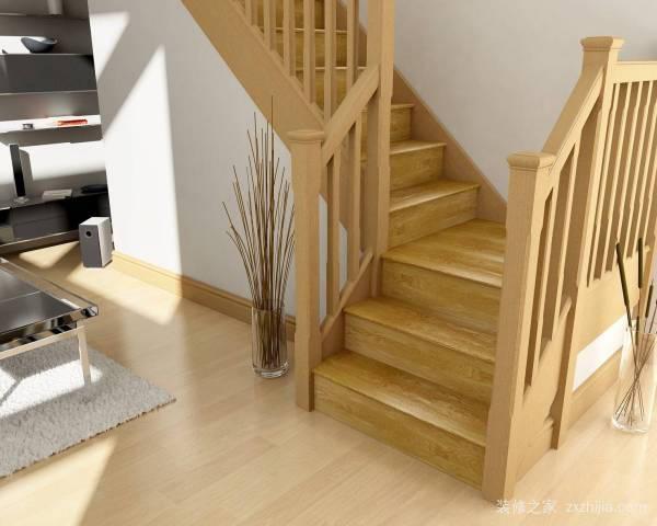 木楼梯图片