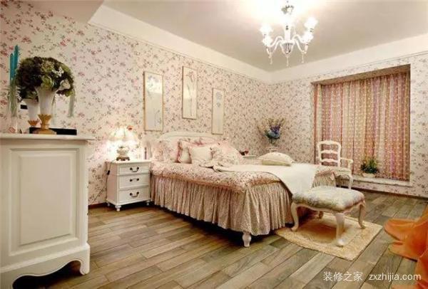 卧室装修墙纸该如何选?