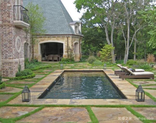 别墅庭院设计注意事项