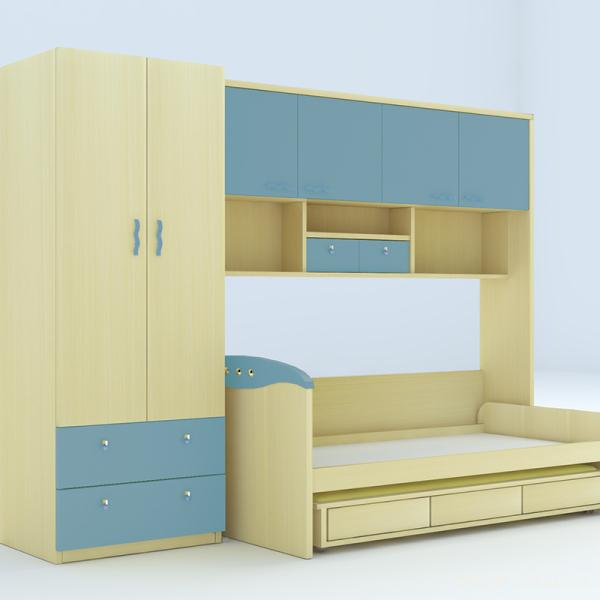 床柜一体家具