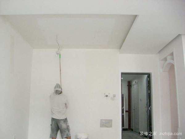 家庭粉刷墙面