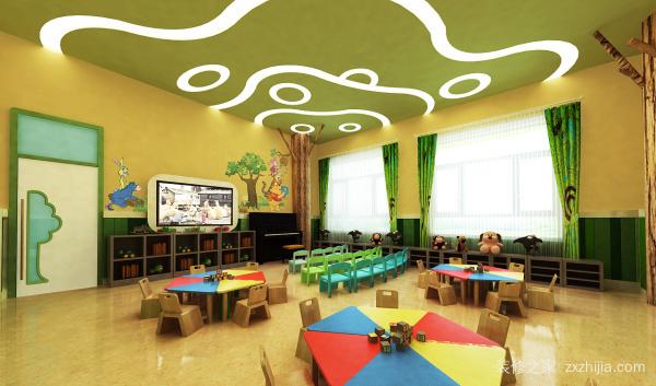 广东幼儿园装修设计