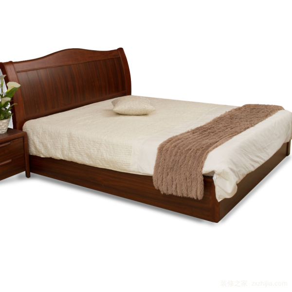实木家具双人床