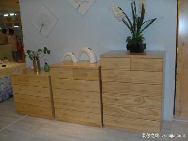实木家具五斗柜