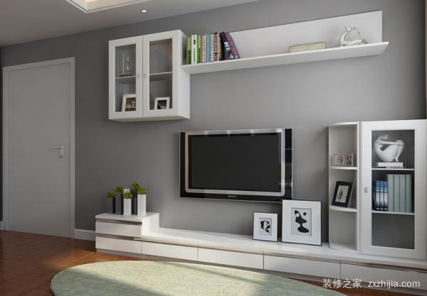 小户型客厅电视墙装修