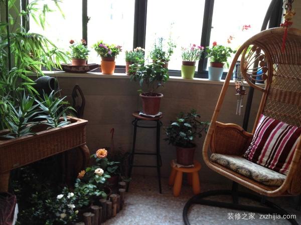 入户花园放什么植物好