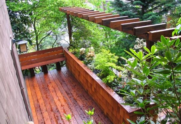 凉台花园要怎么设计?凉台花园设计技巧