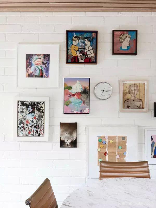 时尚照片墙
