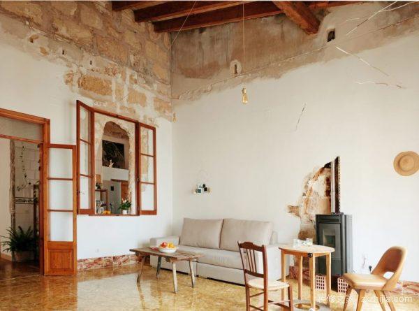 60平米旧房改造装修