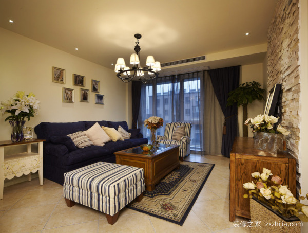 50平米两居室装修