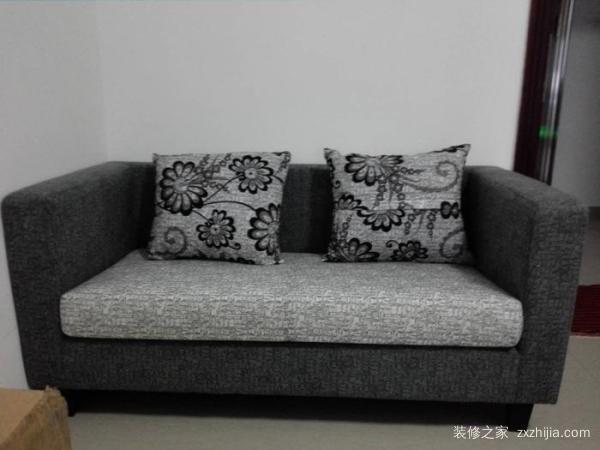布艺双人沙发