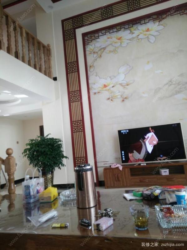 乳胶漆电视墙