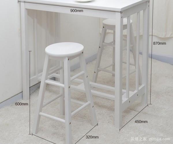 吧台尺寸一般是多少