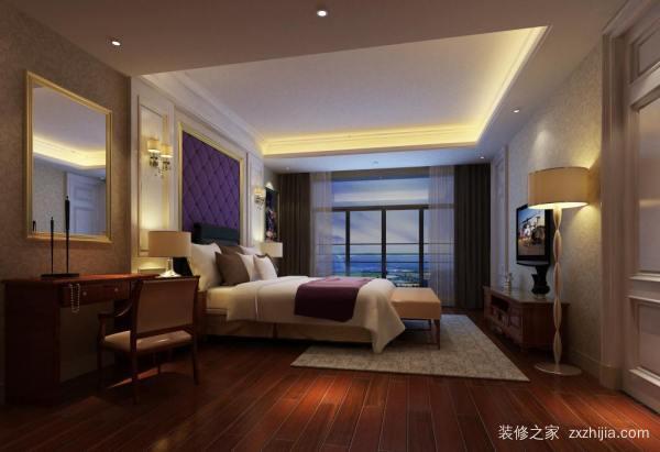 卧室地板胶