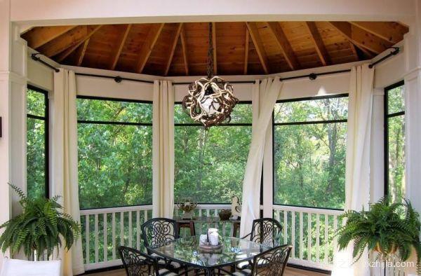 阳台遮阳卷帘
