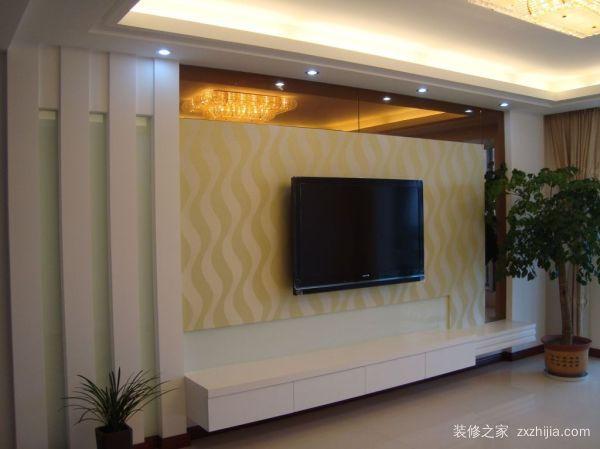 怎么装修电视背景墙