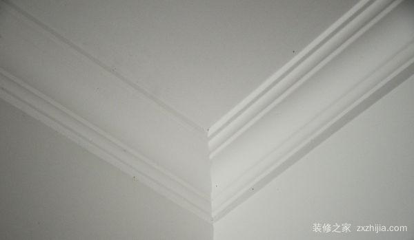 石膏线如何切角