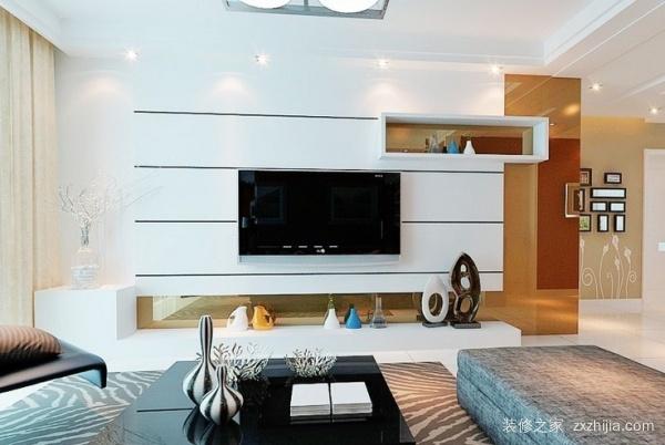 电视墙造型现代风格